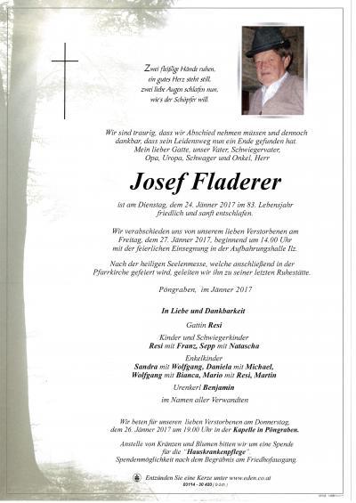 Fladerer