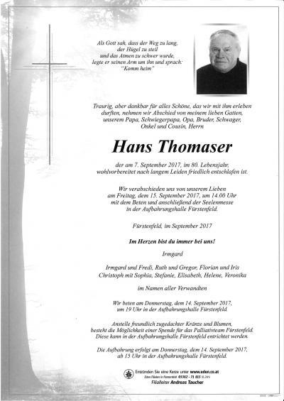 Thomaser