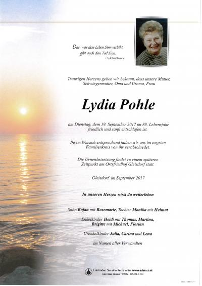 Pohle