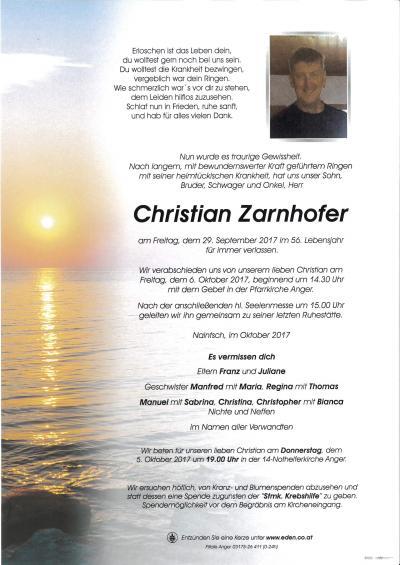 Zarnhofer