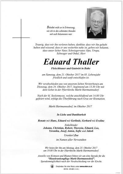 Thaller