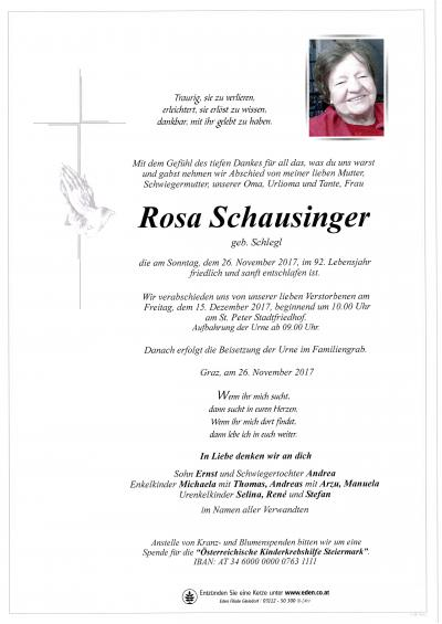 Schausinger
