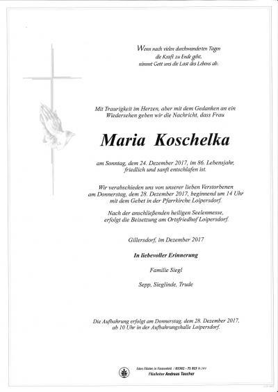 Koschelka