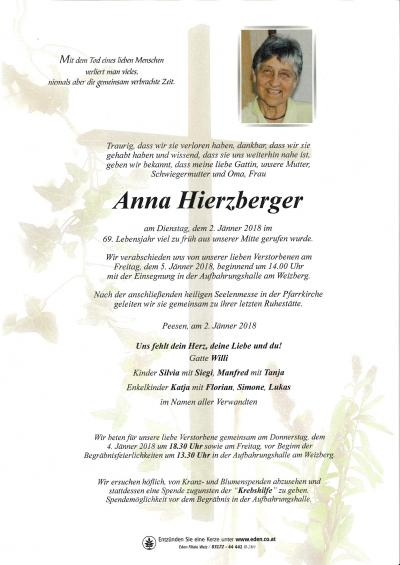 Hierzberger