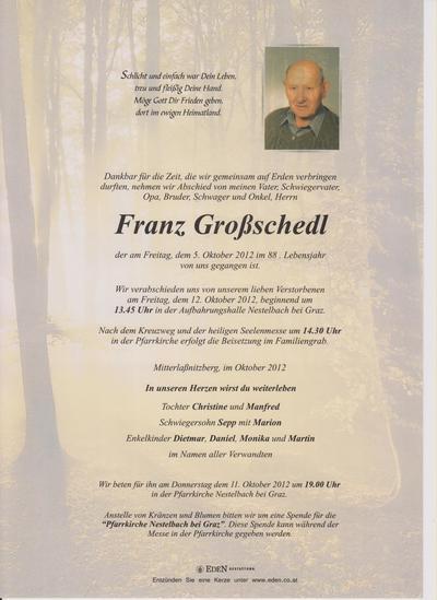 Grossschedl