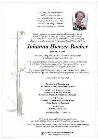 Hierzer-Bacher