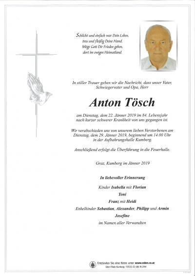 Tösch