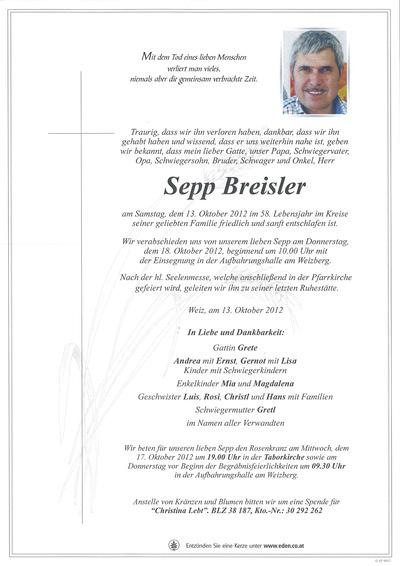Breisler