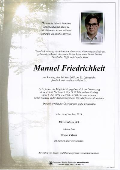 Friedrichkeit