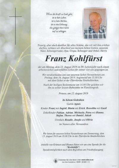 Kohlfürst