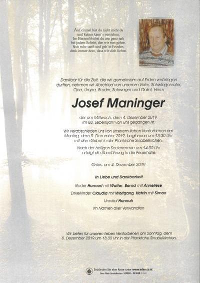 Maninger