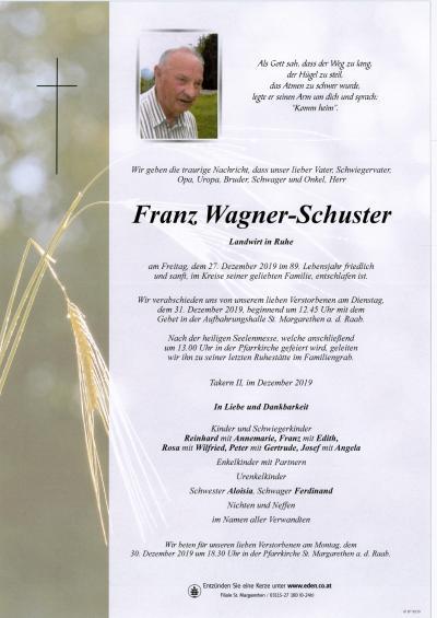 Wagner-Schuster