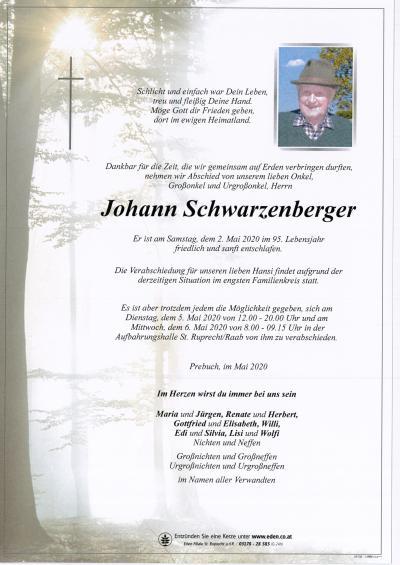 Schwarzenberger