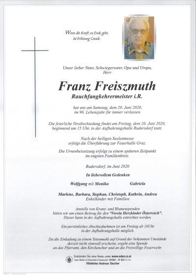 Freiszmuth