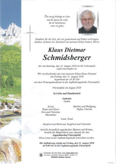 Schmidsberger