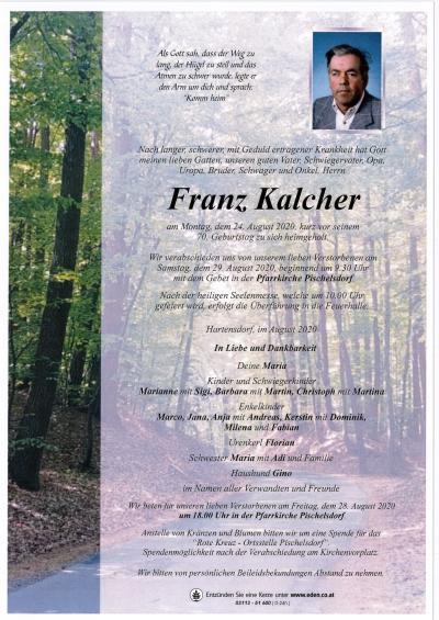 Kalcher