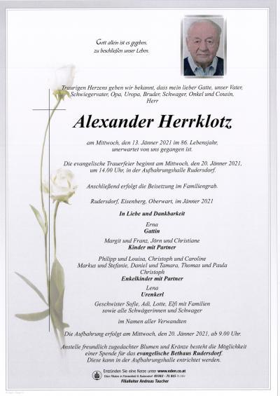 Herrklotz