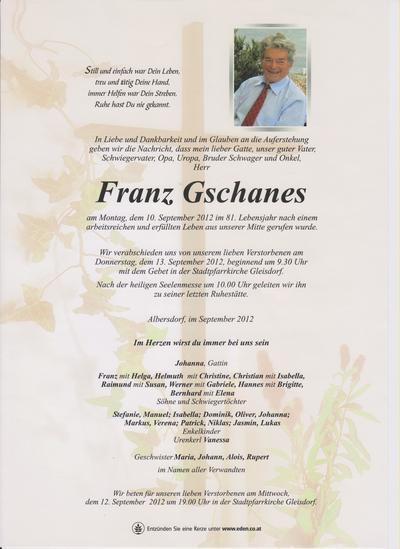 Gschanes