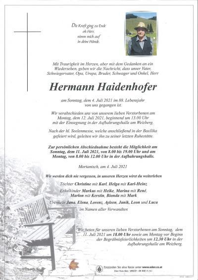 Haidenhofer