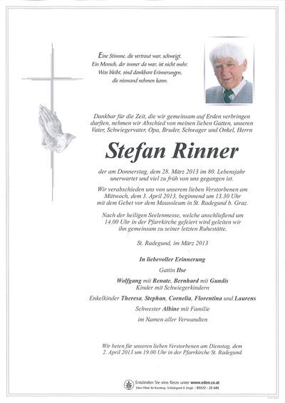 Rinner