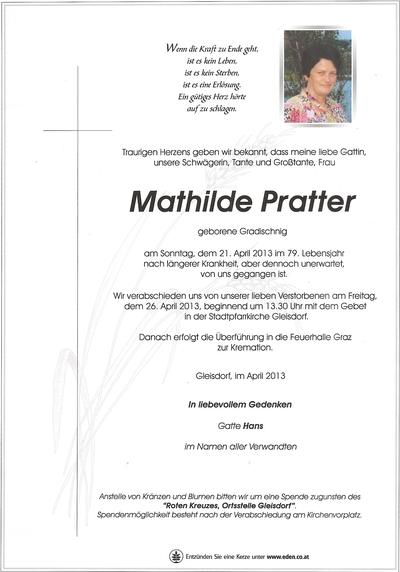Pratter