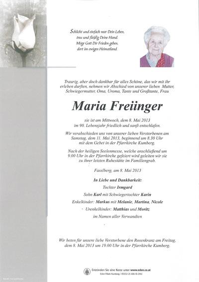Freiinger