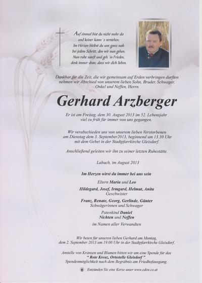 Arzberger