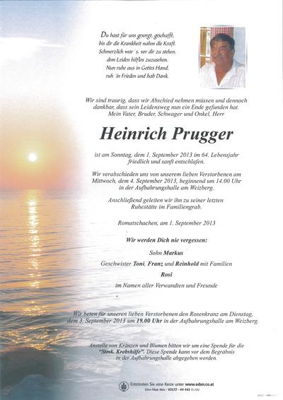 Prugger